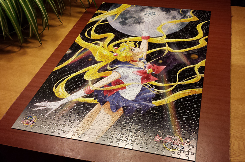 Sailor Moon Crystal Puzzles