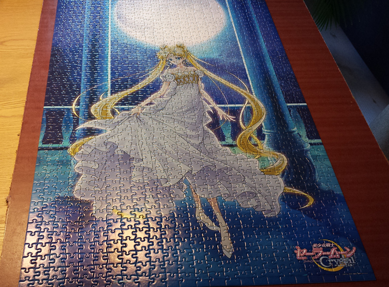 Sailor Moon Crystal Puzzle - Princess Serenity