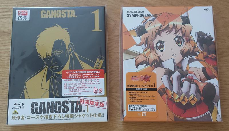 CDJ - GANGSTA. & Symphogear GX
