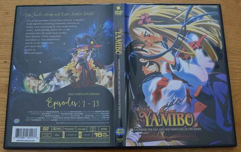 Yami to Boushi to Hon no Tabibito - DVD US + Art Books