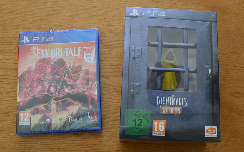 The Sexy Brutale & Little Nightmares [PS4]