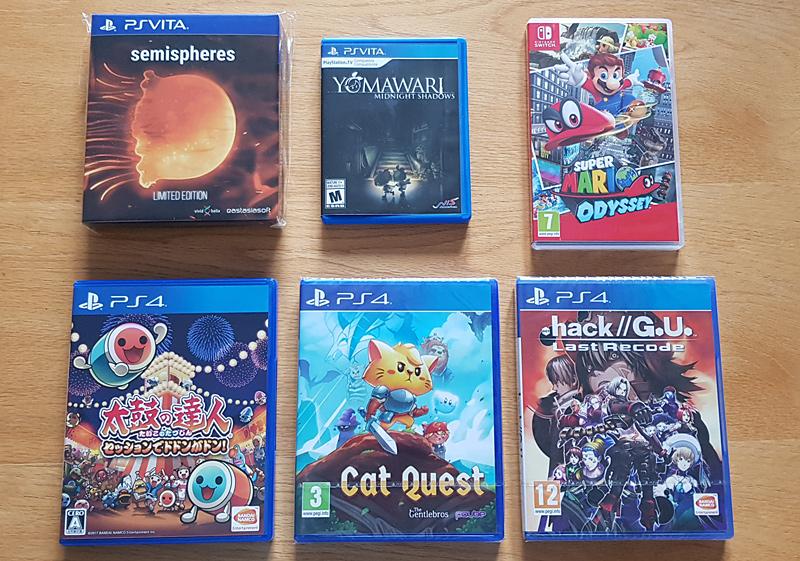 Games Oct-Nov 2017