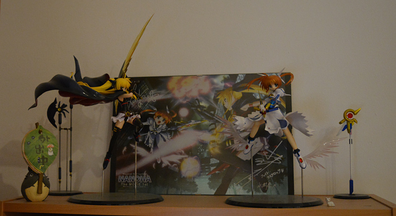 Photos Update : Mahou Shoujo Lyrical Nanoha, A's & The MOVIE 1st