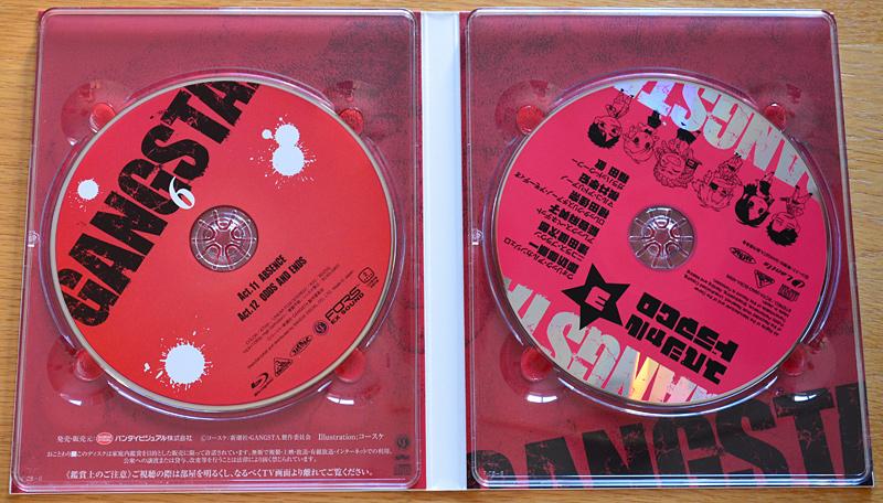GANGSTA. [Blu-ray]