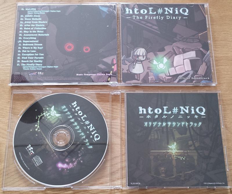 htoL#NiQ -The Firefly Diary- US Limited Edition [PS Vita]