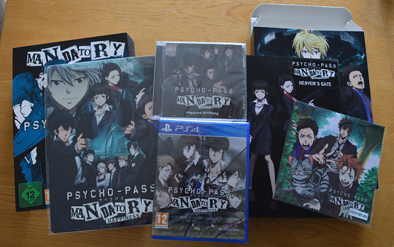 Psycho-Pass: Mandatory Happiness - Limited Edition [PS4]