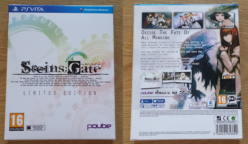 Steins;Gate - El Psy Kongroo Limited Edition [PS Vita]