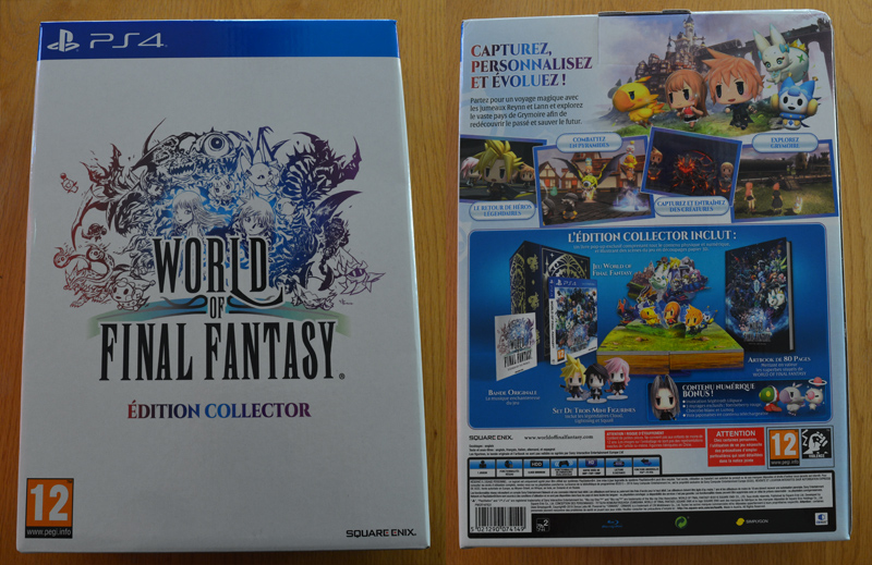 World of Final Fantasy - Collector Edition EU [PS4]