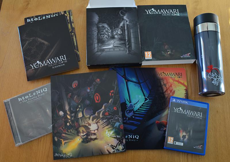 Yomawari -Night Alone- + htoL#NiQ -The Firefly Diary- Limited Edition EU [PS Vita]