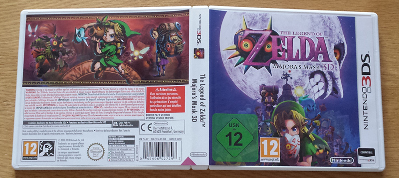 The Legend of Zelda Majora's Mask 3D : New 3DS XL + Game Special Edition