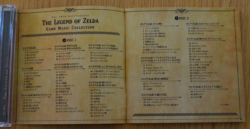 The 30th Anniversary The Legend of Zelda Game Music Collection