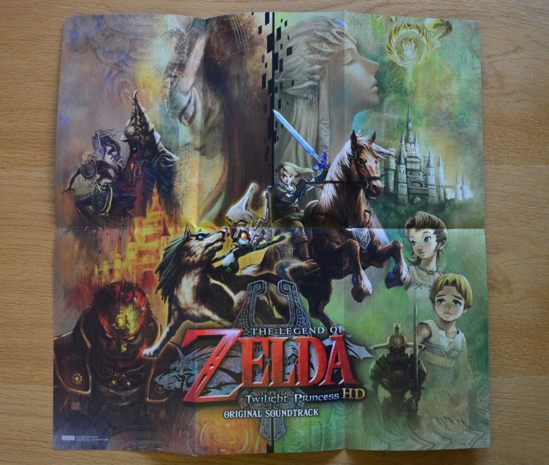 The Legend of Zelda Twilight Princess HD Original Soundtrack
