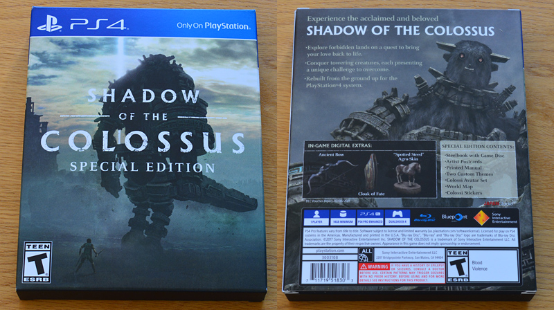 Shadow of the Colossus - Special Edition US [PS4]