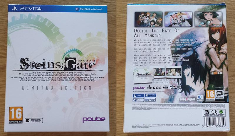 Steins;Gate - El Psy Kongroo Limited Edition [PS Vita]